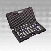 "SPERO 31PC 1/2"" Dr. Socket Set PLUS LINE OFFSET RATCHET"