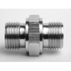 "1/8"" BSP Male x 1/8"" BSP Male Adaptors - DIN standard - Bulk Quantities"